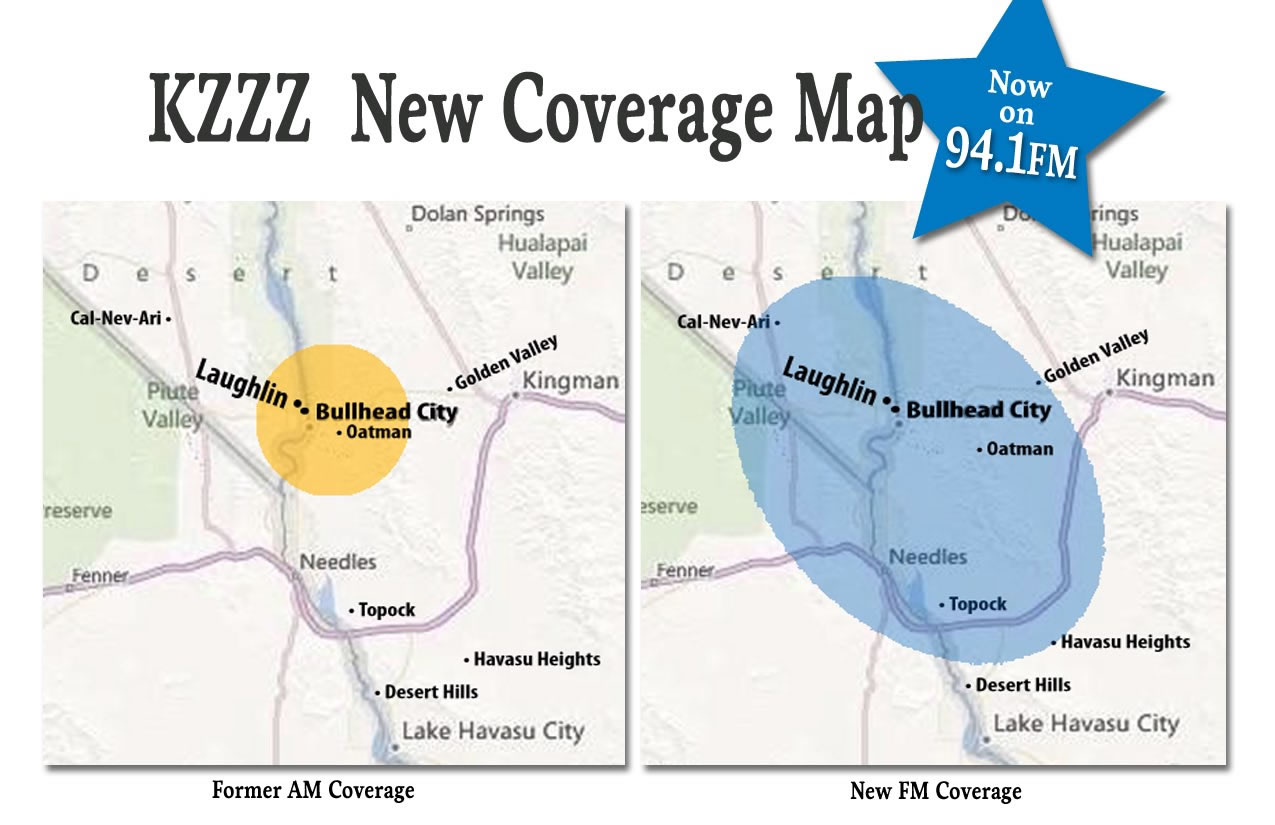 KZZZ Coverage Map
