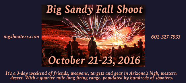 Big Sandy Fall Shoot