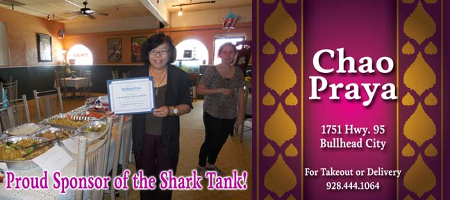 Chao Praya Bullhead City - Proud Sponsor of the Shark Tank!