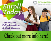 Primavera - Enroll Today!