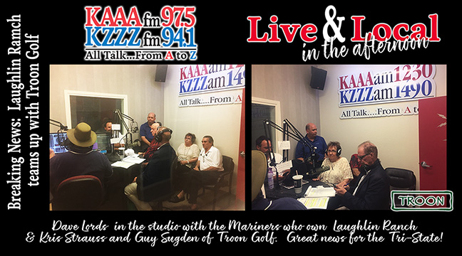 Live & Local in the afternoon - All Talk...From A to Z